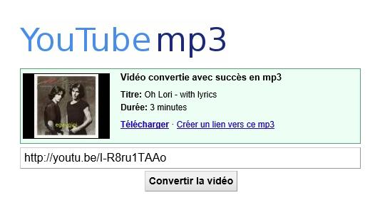 Comment Extirper Un Fichier MP3 D'une Video Youtube?